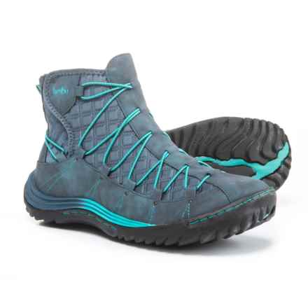 Jambu Spirit Bootie Winter Boots - Vegan Leather (For Women) in Navy - Closeouts