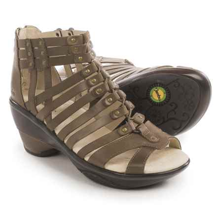 Jambu Sugar Gladiator Sandals - Nubuck (For Women) in Smoky - Closeouts