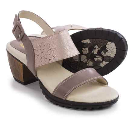 Jambu Sunstone Leather Sandals (For Women) in Champagne - Closeouts