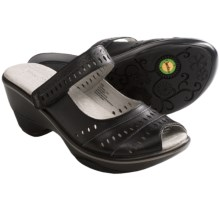 Jambu Touring-Too Shoes - Leather, Sport Wedge Heel (For Women) in Black - Closeouts