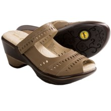 Jambu Touring-Too Shoes - Leather, Sport Wedge Heel (For Women) in Saddle - Closeouts