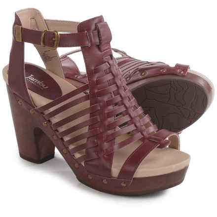 Jambu Valentina Sandals - Leather (For Women) in Wine - Closeouts