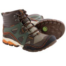 Jambu Vulcan Hiking Boots - Waterproof, Leather (For Little and Big Boys) in Brown/Forest Green - Closeouts