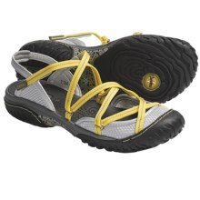 Jambu Water Diva Sandals (For Women) in Silver/Lemon - Closeouts
