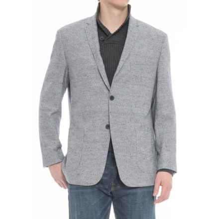 James Campbell Boucle Sport Coat (For Men) in Blue Donegal - Closeouts