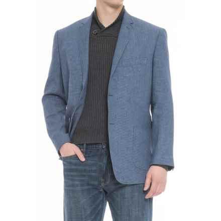 James Campbell Boucle Sport Coat (For Men) in Navy - Closeouts