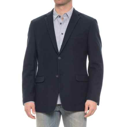 James Campbell Cotton-Blend Sport Coat (For Men) in Navy - Closeouts