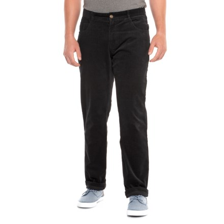 7a527f1b37b6 James Campbell Five-Pocket Corduroy Pants (For Men) in Black - Closeouts