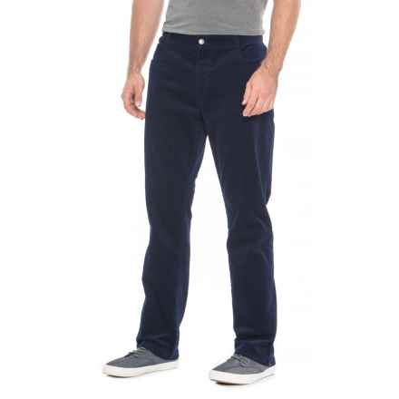 James Campbell Five-Pocket Corduroy Pants (For Men) in Navy - Closeouts