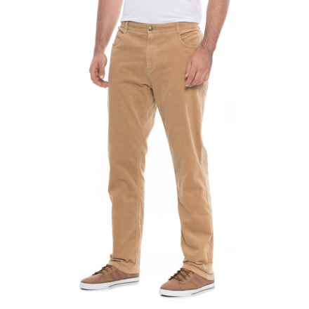 James Campbell Five-Pocket Corduroy Pants (For Men) in Wheat - Closeouts