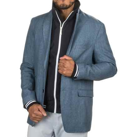 James Campbell Linen Delave Sport Coat (For Men) in Indigo - Closeouts