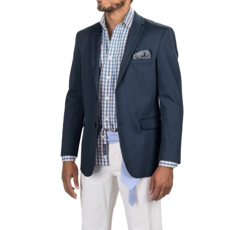 James Campbell Twill Sport Coat (For Men) in Navy