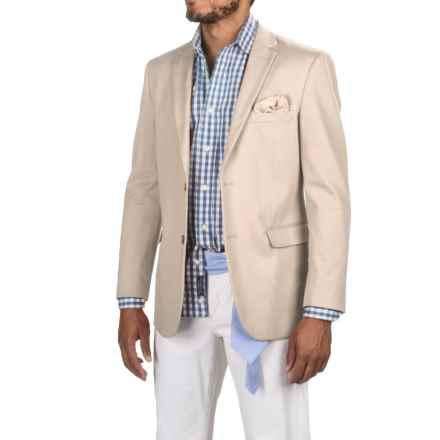 James Campbell Twill Sport Coat (For Men) in Tan - Closeouts