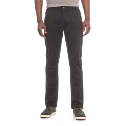 James Campbell Washed Twill Pants - 5-Pocket (For Men) in Black - Closeouts