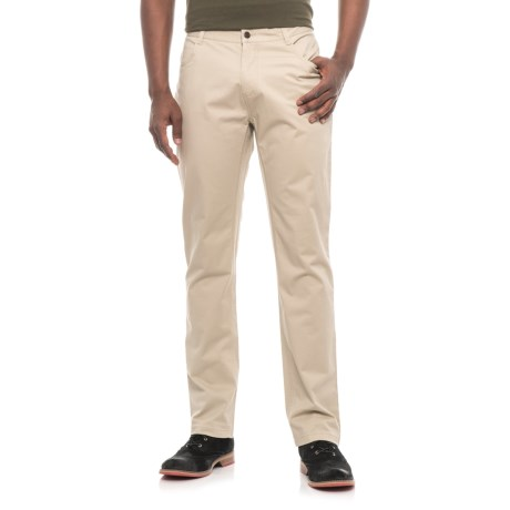 44563f3e James Campbell Washed Twill Pants - 5-Pocket (For Men) in Tan