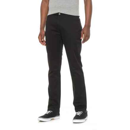 James Campbell Washed Twill Pants (For Men) in Black - Closeouts