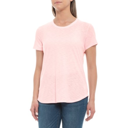 6d1df7cd3 James Perse Cotton-Modal T-Shirt - Crew, Short Sleeve (For Women
