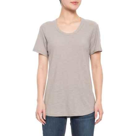 James Perse Relaxed Casual V Neck Shirt For Women Save 73
