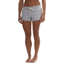 Jane and Bleecker Jersey Shorts (For Women) in Grey Heather - Overstock