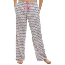 Jane and Bleecker Printed Jersey-Knit Lounge Pants (For Women) in Love Birds - Closeouts