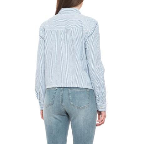 6d81cbb47d1 JANE AND DELANCEY Seersucker Shirt - Long Sleeve (For Women ...