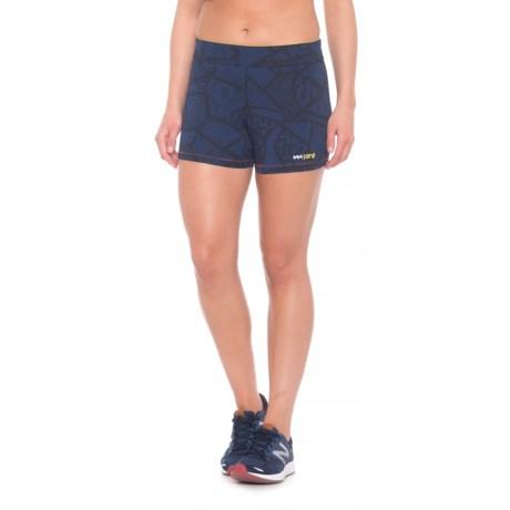 Janji India Booty Shorts (For Women) in Blue