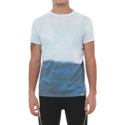 Janji India Horizon T-Shirt - Short Sleeve (For Men) in White - Closeouts