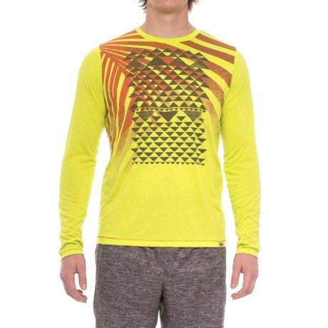 Janji Kenya Palm Shirt - Long Sleeve (For Men) in Yellow