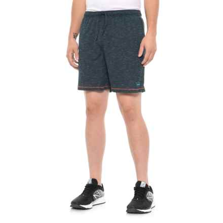 Janji Knit Running Shorts - Built-In Liner (For Men) in Navy - Closeouts