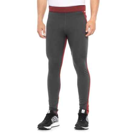 Janji Nepal Odyssey Tights (For Men) in Black/Red - Closeouts