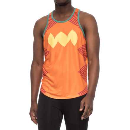 Janji Rapido Singlet - Racerback (For Men) in Orange - Closeouts