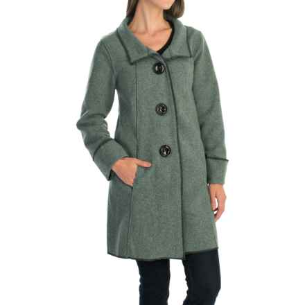 Janska Becka Coat (For Women) in Bayberry - Closeouts