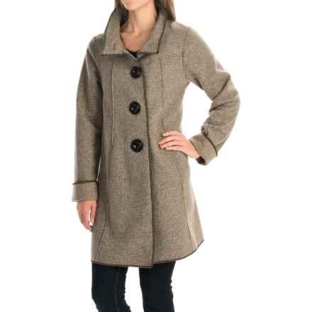 Janska Becka Coat (For Women) in Stone - Closeouts