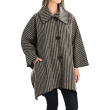 Janska Montrose Cape (For Women) in Check - Closeouts