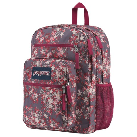 JanSport Big Student 34L Backpack in Folk Floral