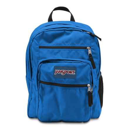 JanSport Big Student Backpack - 34L in Blue Streak - Closeouts