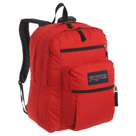 JanSport Big Student Backpack - 34L in High Risk Red - Closeouts