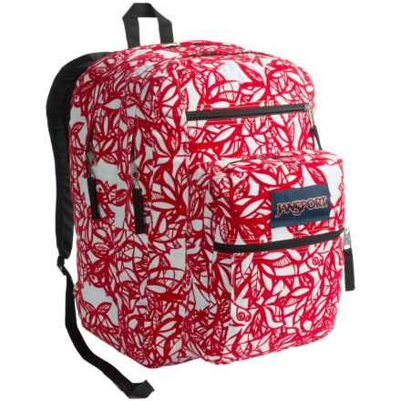 JanSport Big Student Backpack in Crl Dusk Jungle Adventure - Closeouts