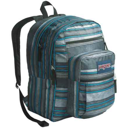 JanSport Big Student Backpack in Multi Bold Stripe - Closeouts