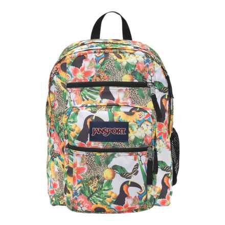 JanSport Big Student Backpack in Multi Jungle Jam - Closeouts