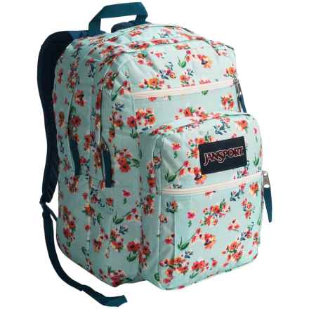 JanSport Big Student Backpack in Multi Painted Ditzy - Closeouts