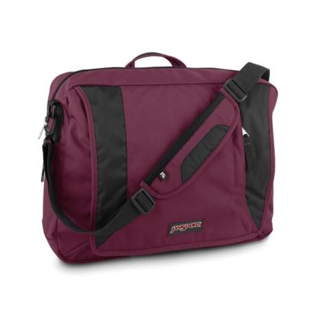 JanSport Century Brief III Messenger Bag in Merlot