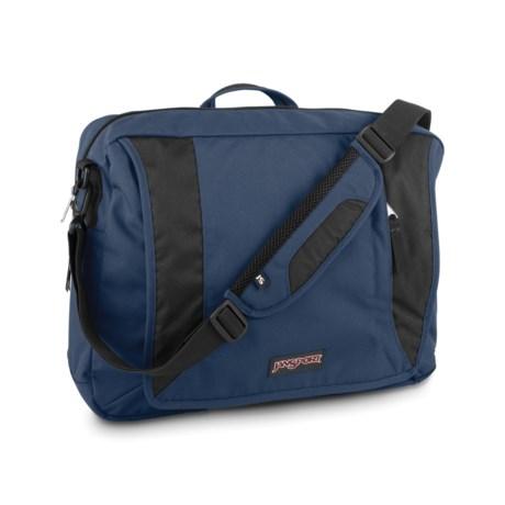 JanSport Century Brief III Messenger Bag in Navy