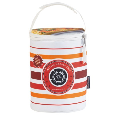 JanSport Collapsible Lunch Cooler in Cup Of Noodle