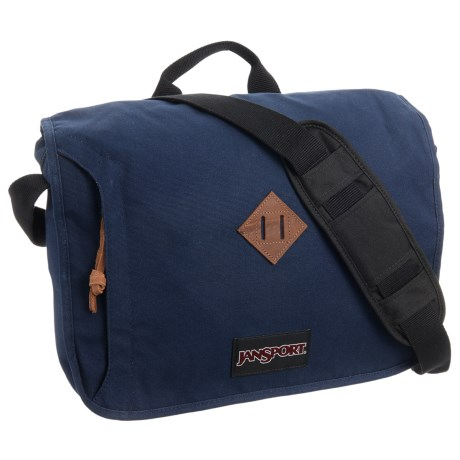 JanSport Crosstalk Messenger Bag in Navy Moonshine