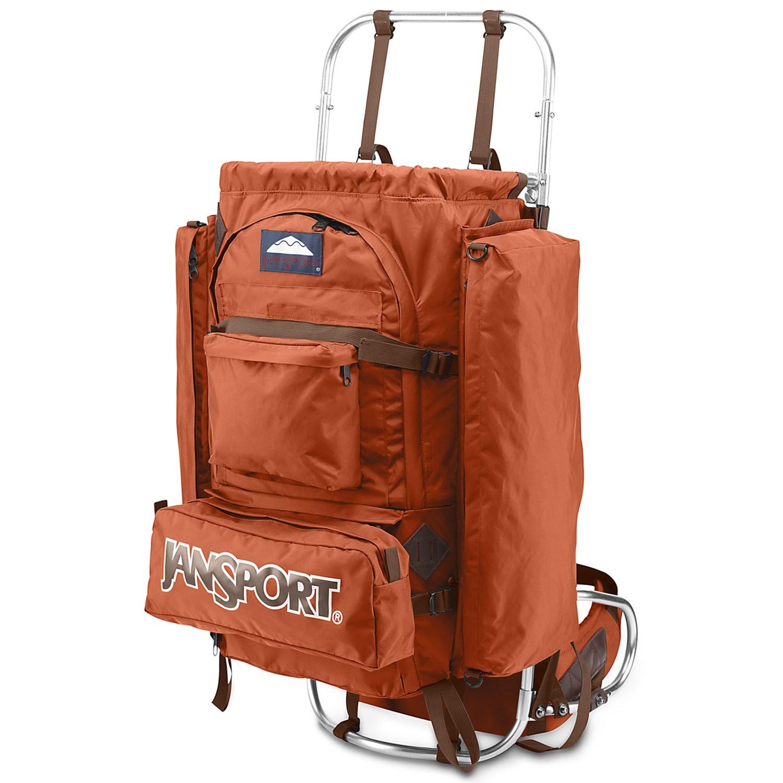Jansport D2 Backpack External Frame Save 35