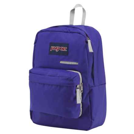 Jansport Digibreak Backpack in Violet Purple - Closeouts