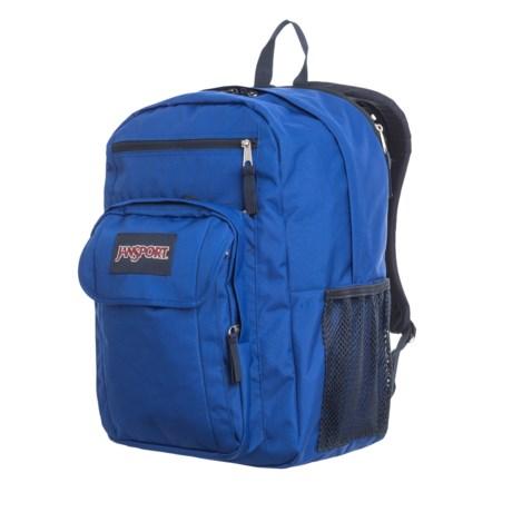JanSport Digital Student 25L Laptop Backpack in Regal Blue