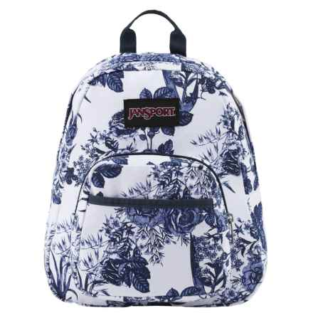 JanSport Half Pint FX Mini Backpack in White Artist Rose - Closeouts