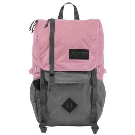JanSport Hatchet Backpack in Vintage Pink - Closeouts